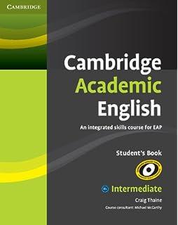 Cambridge academic english c1 advanced students book an integrated cambridge academic english b1 intermediate students book an integrated skills course for eap fandeluxe Choice Image