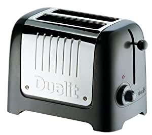 Dualit 25364 Lite 2-Slice Toaster, Charcoal