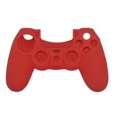 Cinpel Silicone Case for Sony PS4 Controller Red by Cinpel