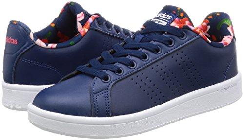 adidas CLOUDFOAM ADVANTAGE CLEAN W - Zapatillas deportivas para Mujer, Azul - (AZUMIS/AZUMIS/ROJIMP) 44