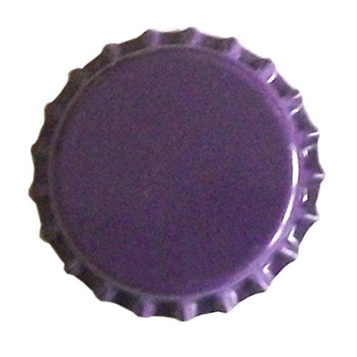 100 x Purple Beer Crowns 26mm The Bottle Jar Store