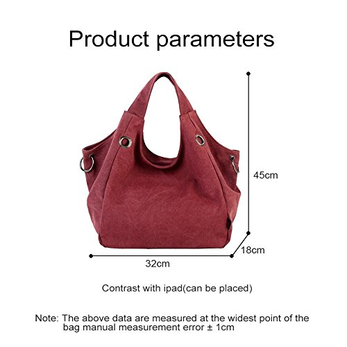 para Bolso One Red Mujer Beige negro Rosso Yoohobo0039 Yoome al Size Hombro XpBZnx7Wwq