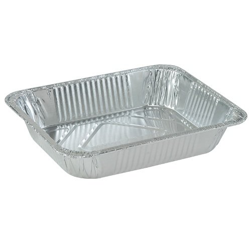 Nicole Home Collection 00511 Aluminum Deep Pan, 1/2 Size (Pack of 100)