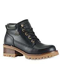 Lugz Women's Flirt Black/Gum boots 6.5 M