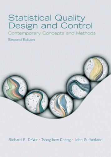 Statistical Quality Design and Control (2nd Edition)