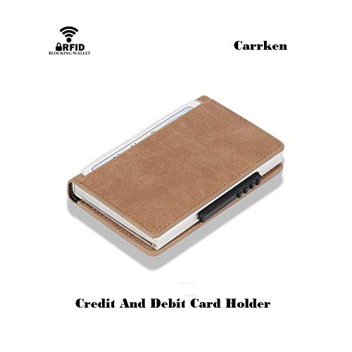 Credit Card Wallet For Women Men Extra Holder Amazon Debit Large Leather RFID