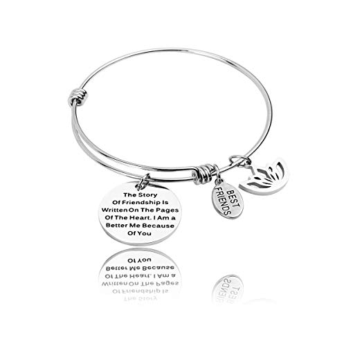 RUNXINTD Best Friend Bracelet The Story of