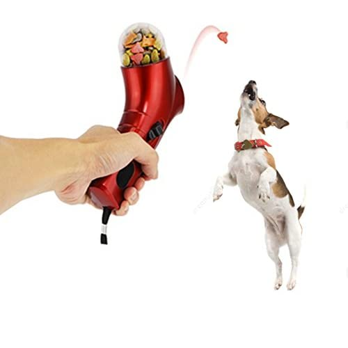 Pro Pet Treat Launcher | The Most Fun Way To Spend More Time with Your Dogs | Special Handheld Treat Launcher with Spring Action Series | Equipped with Comfortable Grip and Wrist Strap | Super Easy Usage | Premium PP Nylon Ma 30%OFF