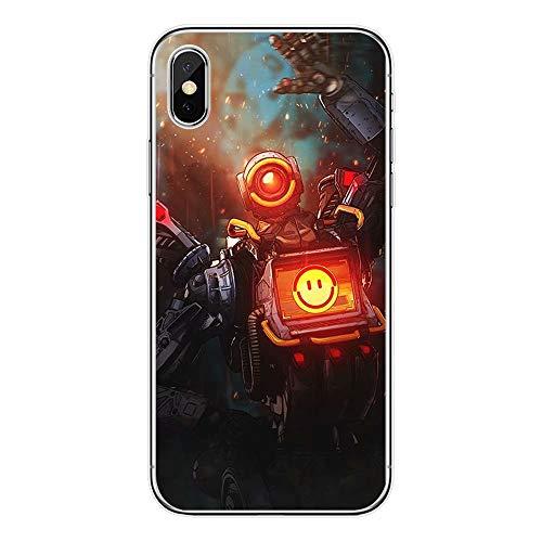 Game Console Phone Case Black Super Soft Silica Gel Cell p-Hone Shell for p-Hone 5 /5s /se /6 /6s/ 6p/ 7 /7p/ 8 /8p/ X/XS/XR/XS MAX