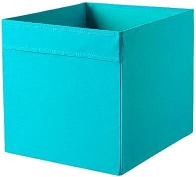 Lot De 10 Ikea Etagere Drona Boite De Rangement En Tissu Pour Etageres 33 X 38 X 33 Cm Lxpxh Bleu Adapte Pour Expedit Besta Etc Amazon Fr Cuisine Maison