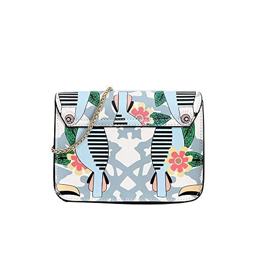 Main color Klerokoh Bird Sac Pour Fille Bandoulière Imprimé Femme En À Designer Cuir Love PApPHqFv