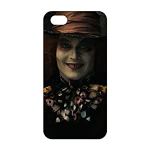 alice in wonderland mad hatter 3D For Iphone 5C Phone Case Cover