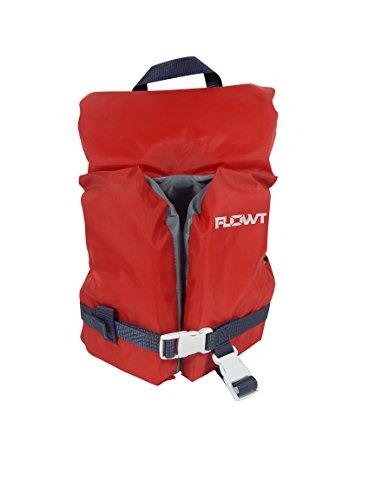 Flowt Multi Purpose 40202-2-INFCLD Multi Purpose Life Vest, Type II PFD, Red, Infant / Child, Fits 0 - 50 lbs (Life Vest Type)