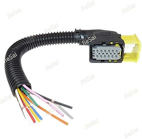 Davitu Electrical Equipments Supplies - 1 Pcs 12 Pin 2-1703639-1 Auto Urea Pump Sensor Connector 1-1545277-1 Car Cable Socket with Wiring Harness