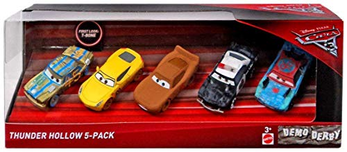 Disney Pixar Cars 3 Thunder Hollow 5-Pack