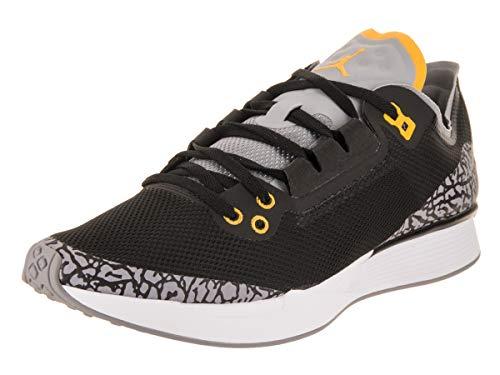 Jordan Nike Men's 88 Racer Black/Varsity Maize Training Shoe 10.5 Men US (Best Jordan Shoe Stores)