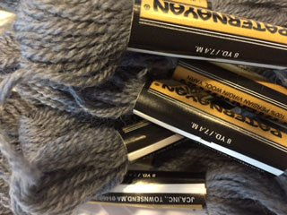 Paternayan Needlepoint 3 Ply Wool Yarn Color 202 Steel Gray