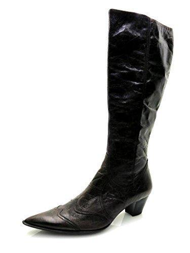 Lamica Kurzschaftstiefel Lederstiefel Stiefel Damenschuhe Lederschuhe Schuhe NEU