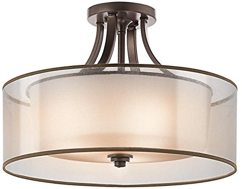 Kichler Transitional Wall Sconce 1 Light Fixture Mission Bro