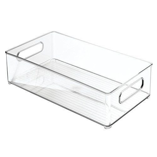 Interdesign Fridge Binz Deep Bin, 8 x 4, Clear