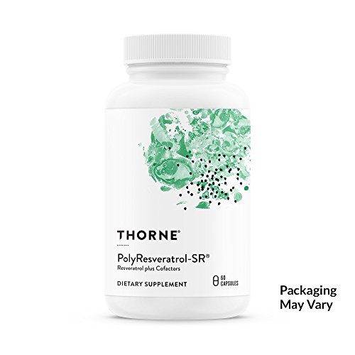 Cheap Thorne Research – PolyResveratrol-SR – Trans-Resveratrol Supplement for Healthy Aging – 60 Capsules