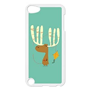 iPod Touch 5 Case White A moose ing Drcgm