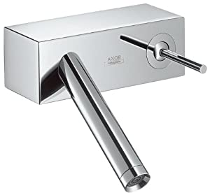 Axor 10074001 Starck X Wall-Mounted Single-Handle Faucet, Chrome 70%OFF