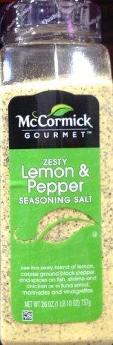 Zesty Pepper Lemon (McCormick Zesty Lemon & Pepper Seasoning Salt by McCormick)