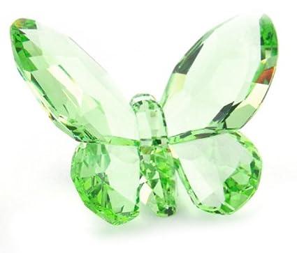 7566977db9 Amazon.com: Swarovski Crystal Figurine #855773, Butterfly Peridot ...
