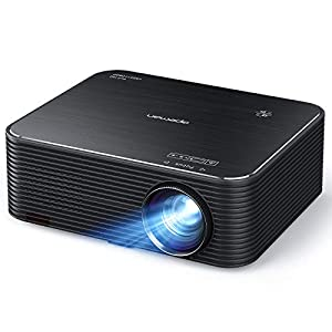 APEMAN Projector, Native 1080P Full HD Video Projector, Support 4K Movie, Electronic Keystone Correction, 300″ LCD Screen for Home Cinema, Compatible with HDMI/USB/Fire stick/Phone/PS4/Chromecast