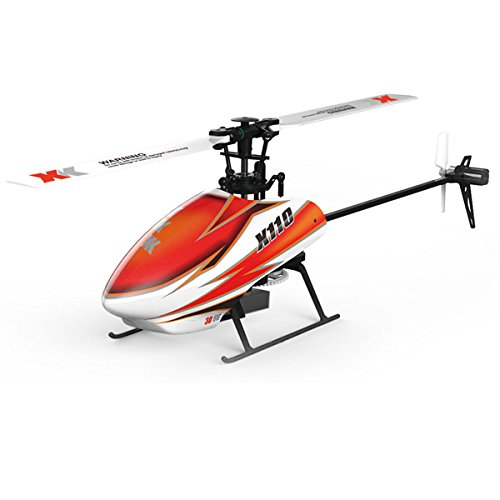 XK K110 Blast 6CH Brushless 3D6G System RC Helicopter BNF 450 Brushless Main Motor