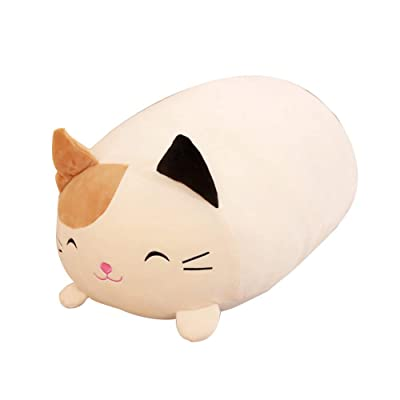 Kpop Space Lying Pig Cat Animal Plush Stuffed Doll Toy Cushion Throw Pillow 30cm Plush Toys(H03): Kitchen & Dining