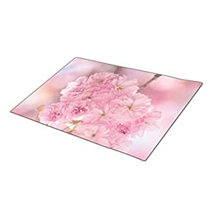 Palepink Garden Summer Decorative Door Mats