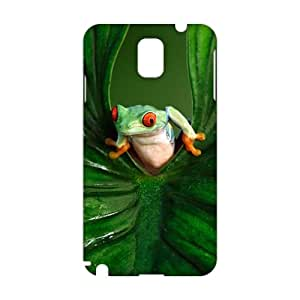 Evil-Store Green leaves and unique frog 3D Phone Case for Samsung Galaxy s5