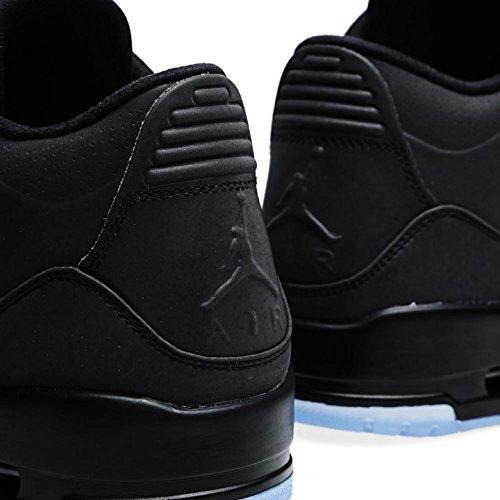 Nike Heren Air Jordan 5lab3 Donker Reflecterend Zwart / Transparant Synthetisch Basketbal Zwart, Zwart-transparant