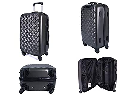 Borderline Super Lightweight ABS Hard Shell Travel Carry On Cabin