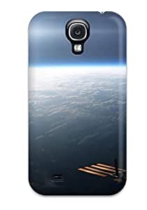 New Design Shatterproof LguuQqt830nSBDk Case For Galaxy S4 (space Station Above The Earth)