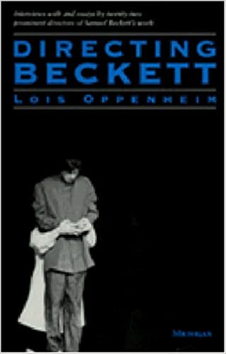 Book Directing Beckett (Theater: Theory/Text/Performance)