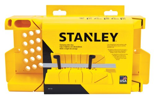 Box Miter Precision (Stanley 20-112 Clamping Miter Box)