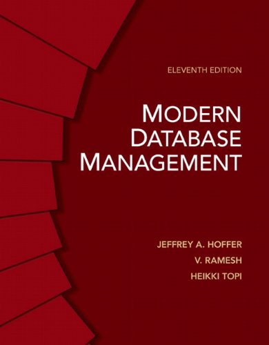 Modern Database Management (11th Edition)