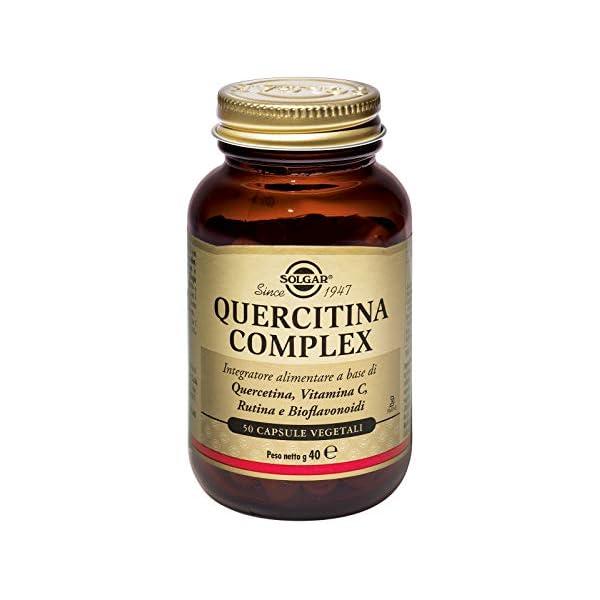 Solgar Quercitina Complex Integratore Alimentare – 50 Capsule