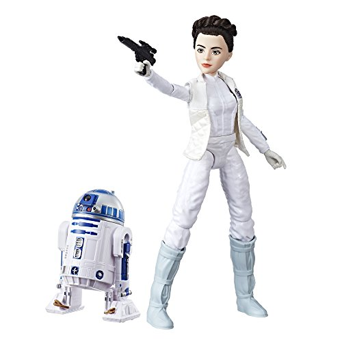Star Wars Doll (Star Wars Forces of Destiny Princess Leia Organa and R2-D2 Adventure Set)