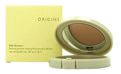 Origins Silk Screen Refining Powder Makeup, Caramel Mousse, .38 -