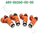 4PCS FLOW MATCHED motorcycle 115 HP Fuel Injector fuel nozzle CDH210 INP771 For Yamaha Outboard For Yamaha Outboard