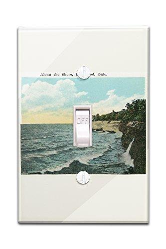 Lakewood, Ohio - Shoreline Scene (Light Switchplate Cover)