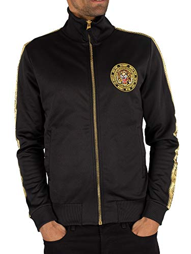 Ed Hardy Men's Tiger Crouch Track Top, Black, ()