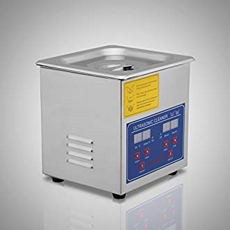Jakan Stainless Steel Digital Ultrasonic Cleaner with Timer and Heater.