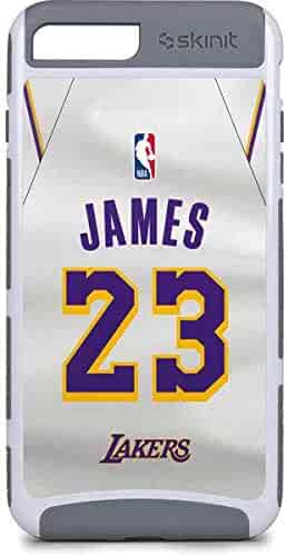 32c8f42d861 Skinit NBA Los Angeles Lakers iPhone 7 Plus Cargo Case - LeBron James Lakers  White Jersey