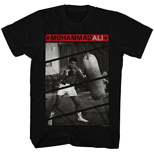 2bhip shirt Légende De Boxe Frappe Les Pour Plus Temps La Tee Grand Le Noir Homme Sac Muhammad Tous Ali HrqwpgZH