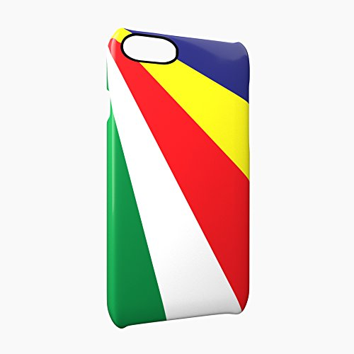 Flag of Seychelles Glossy Hard Snap-On Protective iPhone 7 Plus + Case Cover